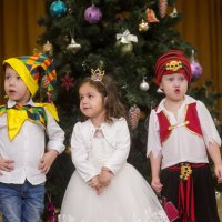 новогодний праздник в садике :: Ярослава Бакуняева