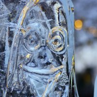 Ледяная улыбка :: Сергей Добрыднев