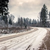 Первый снег :: Константин Ольховка