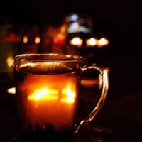 чай при свечах :: Ефим Журбин