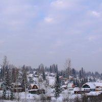Спят дачи зимним сном :: Нина северянка