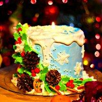 Новогодний торт :: TATYANA PODYMA