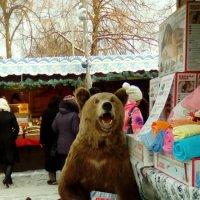 Медведь на ярмарке! :: Светлана Калмыкова