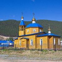 Храм Иконы Владимирской богоматери в Нижнеангарске :: val-isaew2010 Валерий Исаев