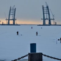 Выход на лёд. :: Юрий Тихонов