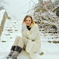 Первый снег в Сочи......... :: Елена Сухова
