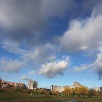 Небо в октябре :: Дмитрий Загорский