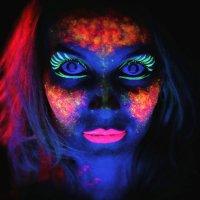 Люминесцентный боди арт :: Сергей Грейхорс