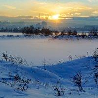 Туманный вечер :: Анатолий Иргл