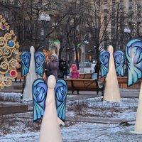 Ангелы гуляют по Москве :: Анастасия Смирнова