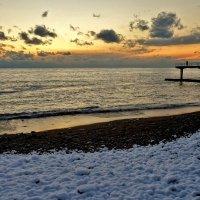 Такое бывает очень-очень редко - на новый год снег и море! :: СветЛана D