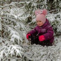 ...встретил снегурочку... :: Виктор Грузнов