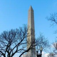Монумент Дж.Вашингтону (1848-1884, г.Вашингтон, США) :: Юрий Поляков