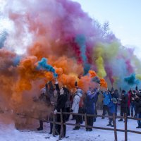 Фестиваль цветного дыма :: Sergey Lebedev