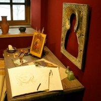 В мастерской иконописца :: Владимир Болдырев