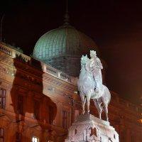 Конная скульптура польского короля Владислава Ягелло в Кракове :: Денис Кораблёв