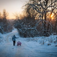 Зимний вечер :: Сергей Бредихин