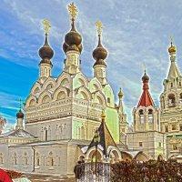 Свято-Троицкий женский монастырь в лучах заката. Муром. :: Elena Izotova