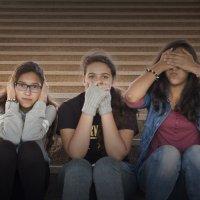 Три обезьянки :: Светлана marokkanka