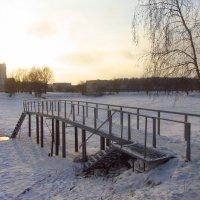В Москве - мороз (минус 18). Купальня работает! :: Андрей Лукьянов