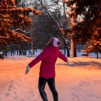 Любитель зимы. :: Света Кондрашова