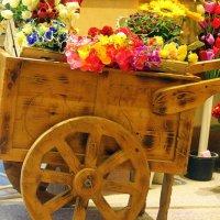 Тележка с цветами. :: оля san-alondra
