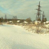 первый реальный снежок..3 января..за окном - 8 :: Михаил Жуковский