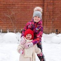 Первый снег! :: Геннадий Оробей