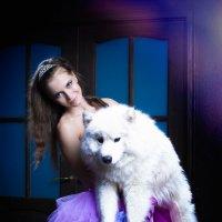 Белый и пушистый :: Анита Гавриш