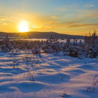 Последние лучи заходящего солнца :: Анатолий Иргл