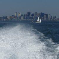 Крутой вираж перед выходом в Атлантический океан... (старые снимки) :: Юрий Поляков