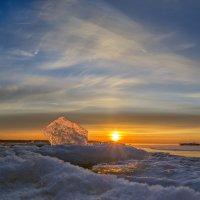Закат над Финским заливом :: Valeriy Piterskiy