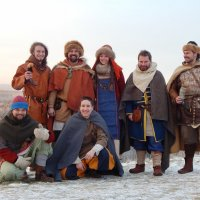 Съёмки документального фильма о Рёгнвальде.02.01.2016 :: Яр Славянин
