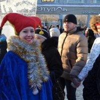 Девушки с благотоворительной Рождественской ярмарки. :: cfysx