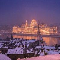 В Будапеште снег. :: Тиша