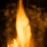 Burning match :: Pavel Vorobiev