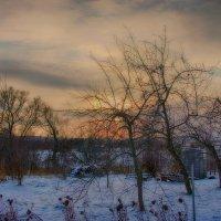 Зимний вечер на даче... :: марк