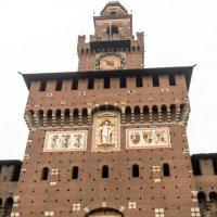 Центральная башня замка Сфорца, Милан :: Witalij Loewin