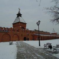 Тульский кремль- башня Пятницких ворот XVIв. :: Людмила Ларина