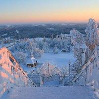 Вечер на Белой горе :: Галина