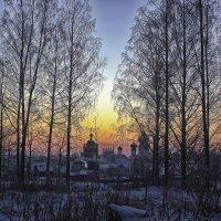 на закате :: Сергей Кочнев