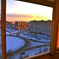 из окна... :: Елена Третьякова