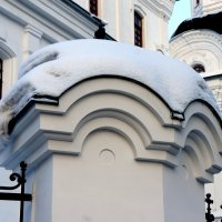 Белое на белом :: Наталья Тимофеева