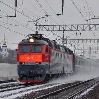 Электровоз ЧС7-159 :: Денис Змеев