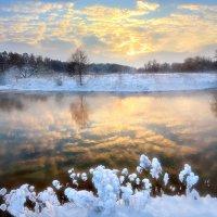 Островок заходящего солнца... :: Андрей Войцехов