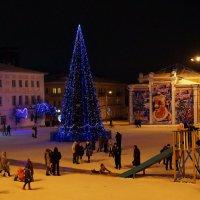 ~ Рождество в провинциальном городке ~ :: Ирина Анисимова