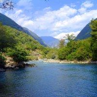 Горная река Бзыбь! :: Иван Медоф
