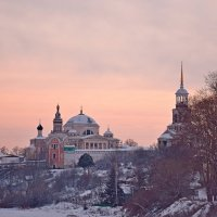 Морозный закат. :: vkosin2012 Косинова Валентина