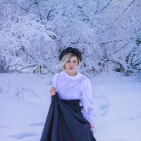Морозное начало года :: Рина *
