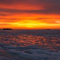 Зимний закат. :: Мила